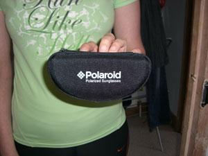 Polaroid polarised sunglasses case