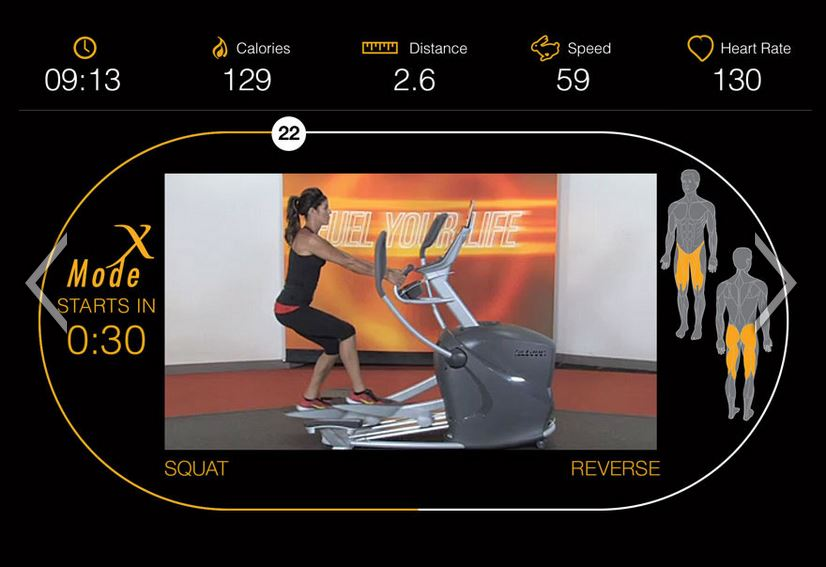 Smartlink app from Octane Fitness