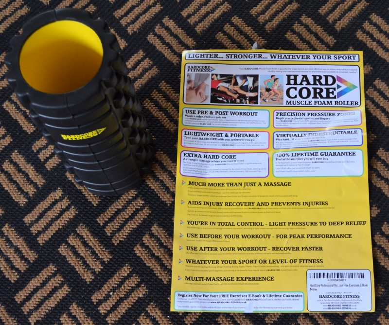 HardCore Fitness Foam Roller