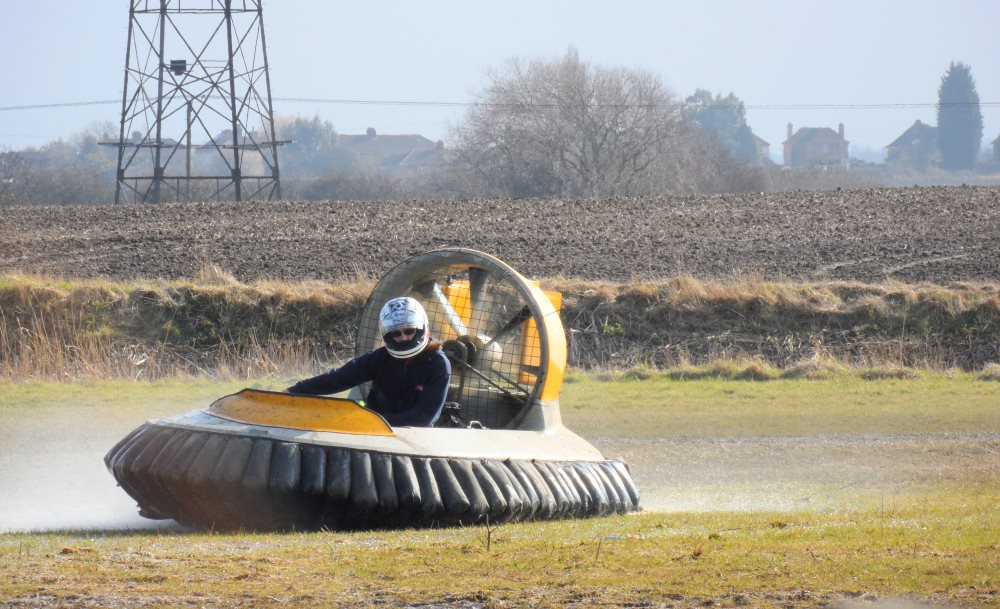 Hovercrafting on the land