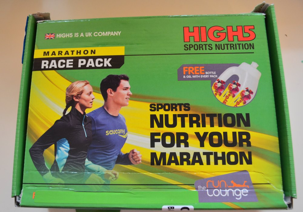 High 5 marathon race pack