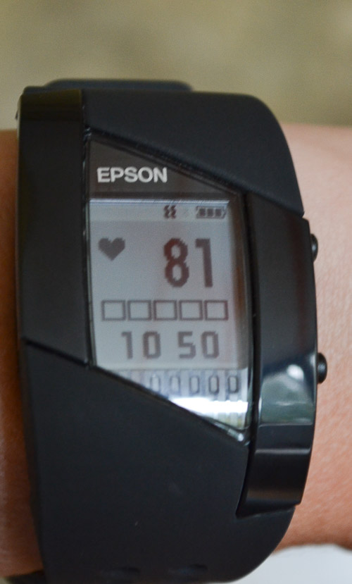 Epson Pulsense Heart Rate Monitor