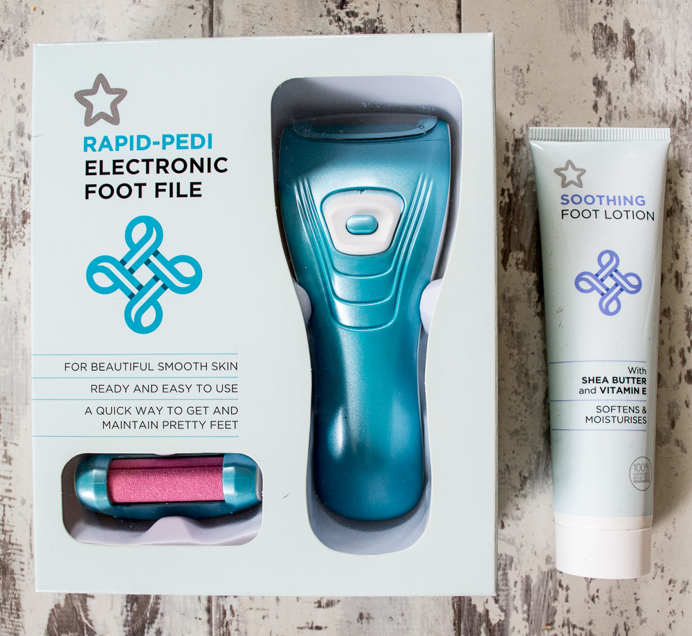 Superdrug Rapid-Pedi Electronic Foot File