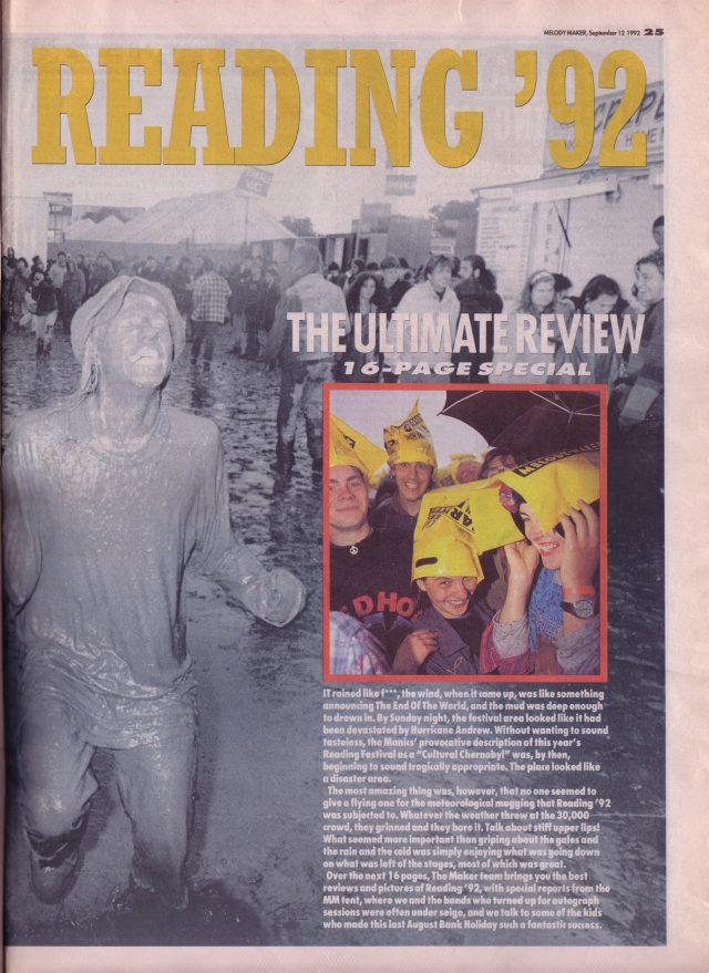 Reading festival 1992